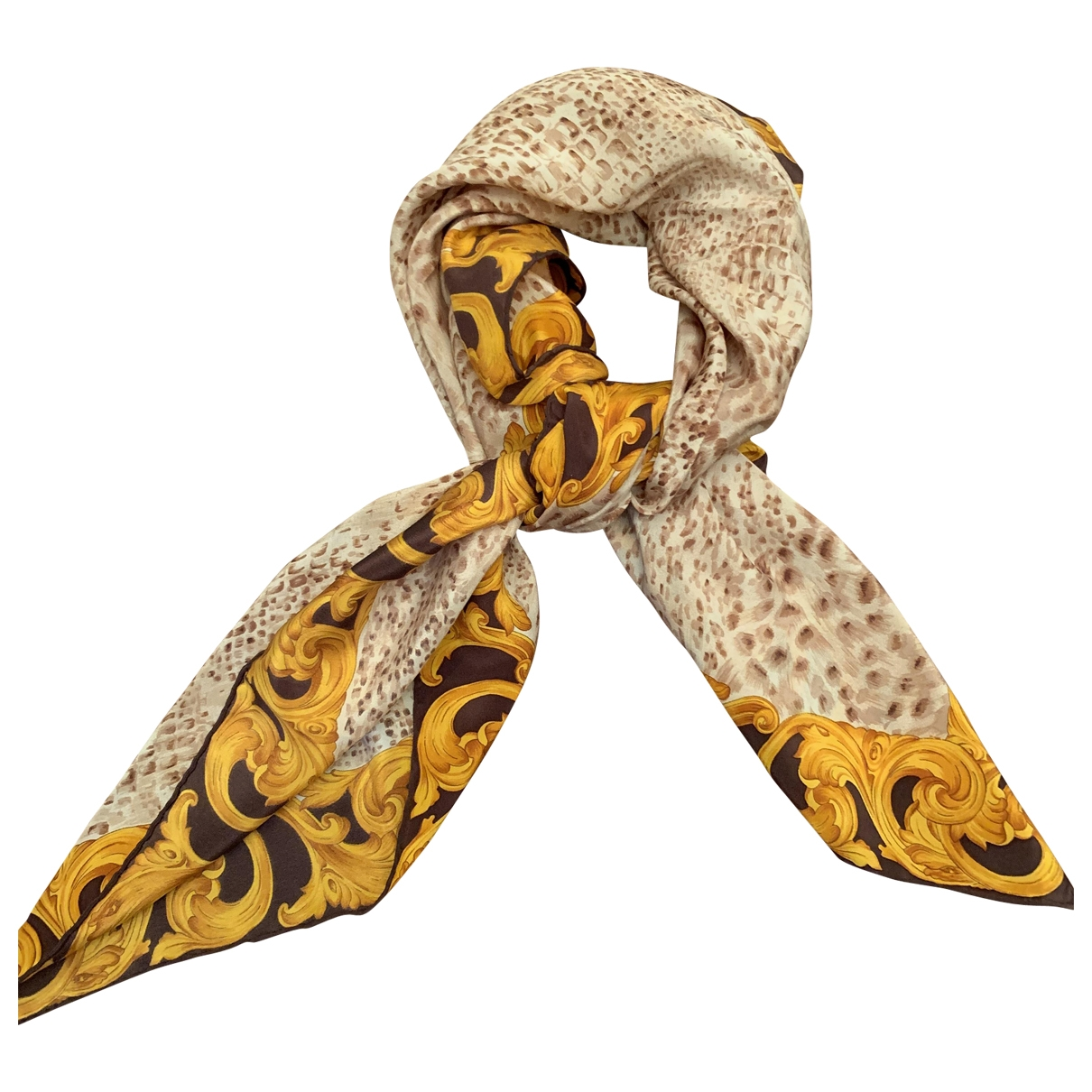 Genny \N Multicolour Silk scarf for Women \N