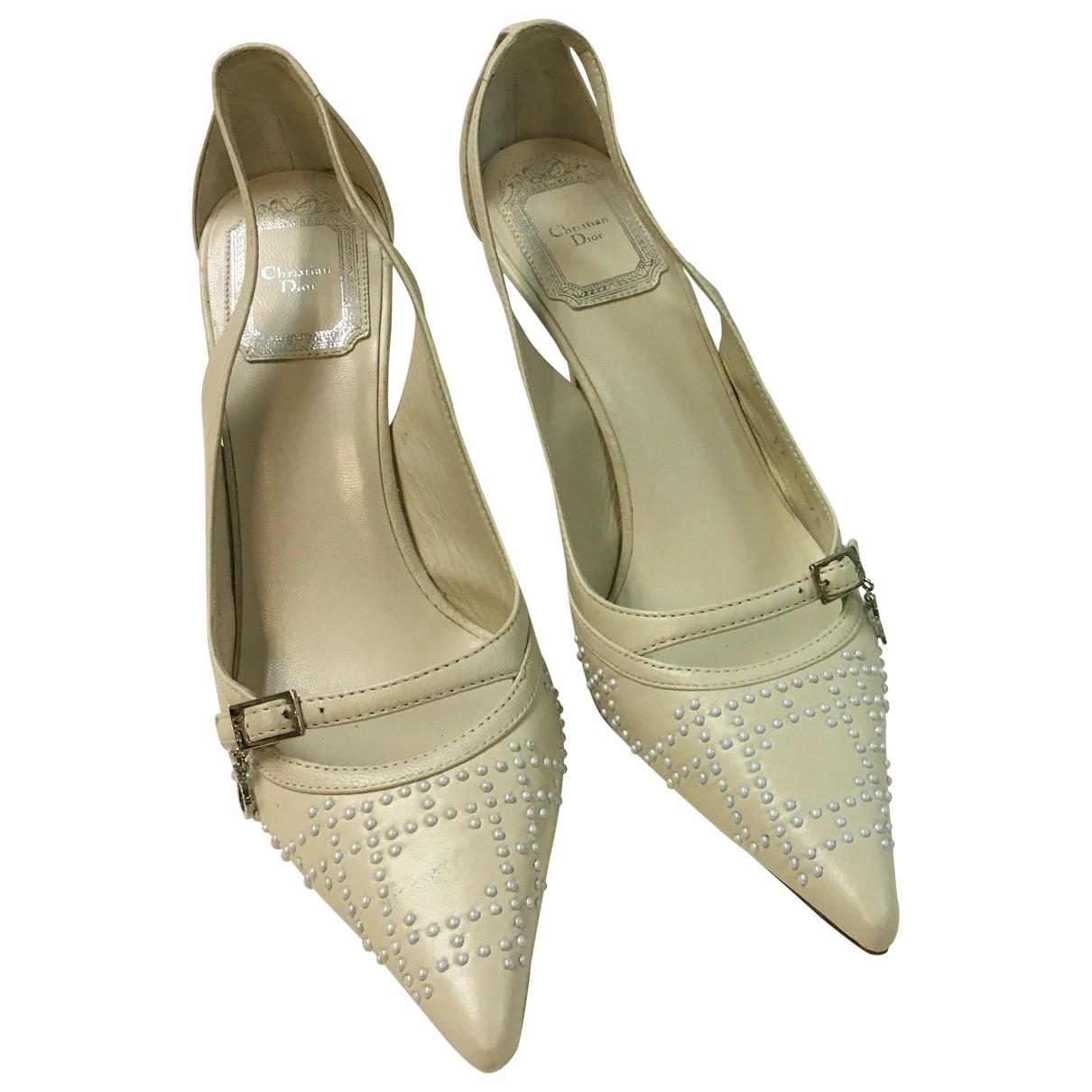 Dior \N Leather Heels for Women 35.5 EU
