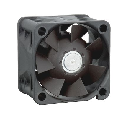 ebm-papst , 24 V dc, DC Axial Fan, 40 x 40 x 28mm, 38m³/h, 6.9W, IP54