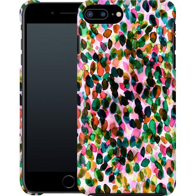 Apple iPhone 8 Plus Smartphone Huelle - Rainbow Drizzle von Amy Sia