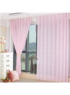 Wonderful Pink Living Room&Bedroom Custom Sheer Curtain