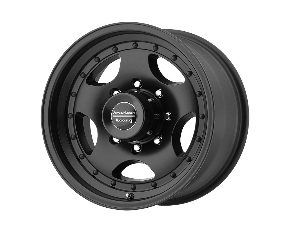 American Racing AR23 Wheel 15x10 5x5x139.7 -44mm Satin Black