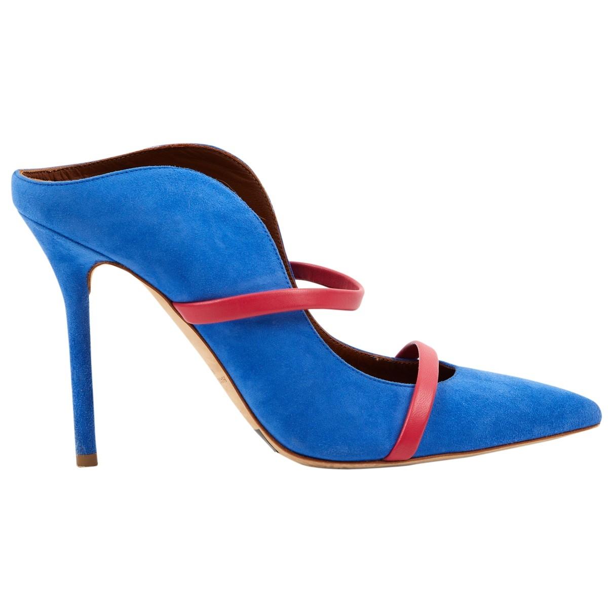 Malone Souliers - Sandales Maureen pour femme en suede - bleu