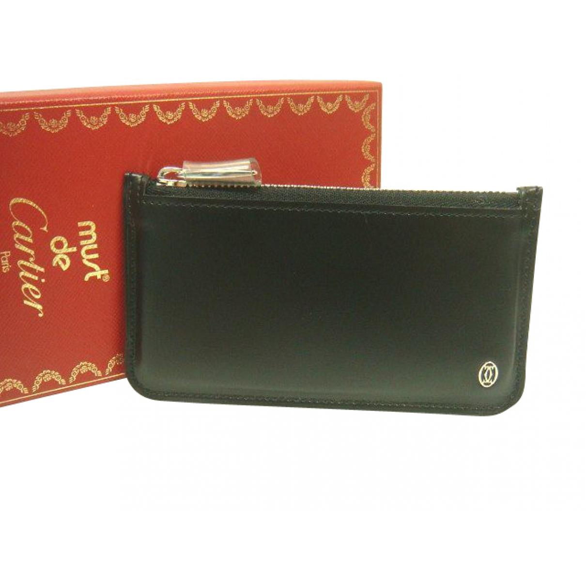Cartier - Petite maroquinerie   pour femme en cuir - noir
