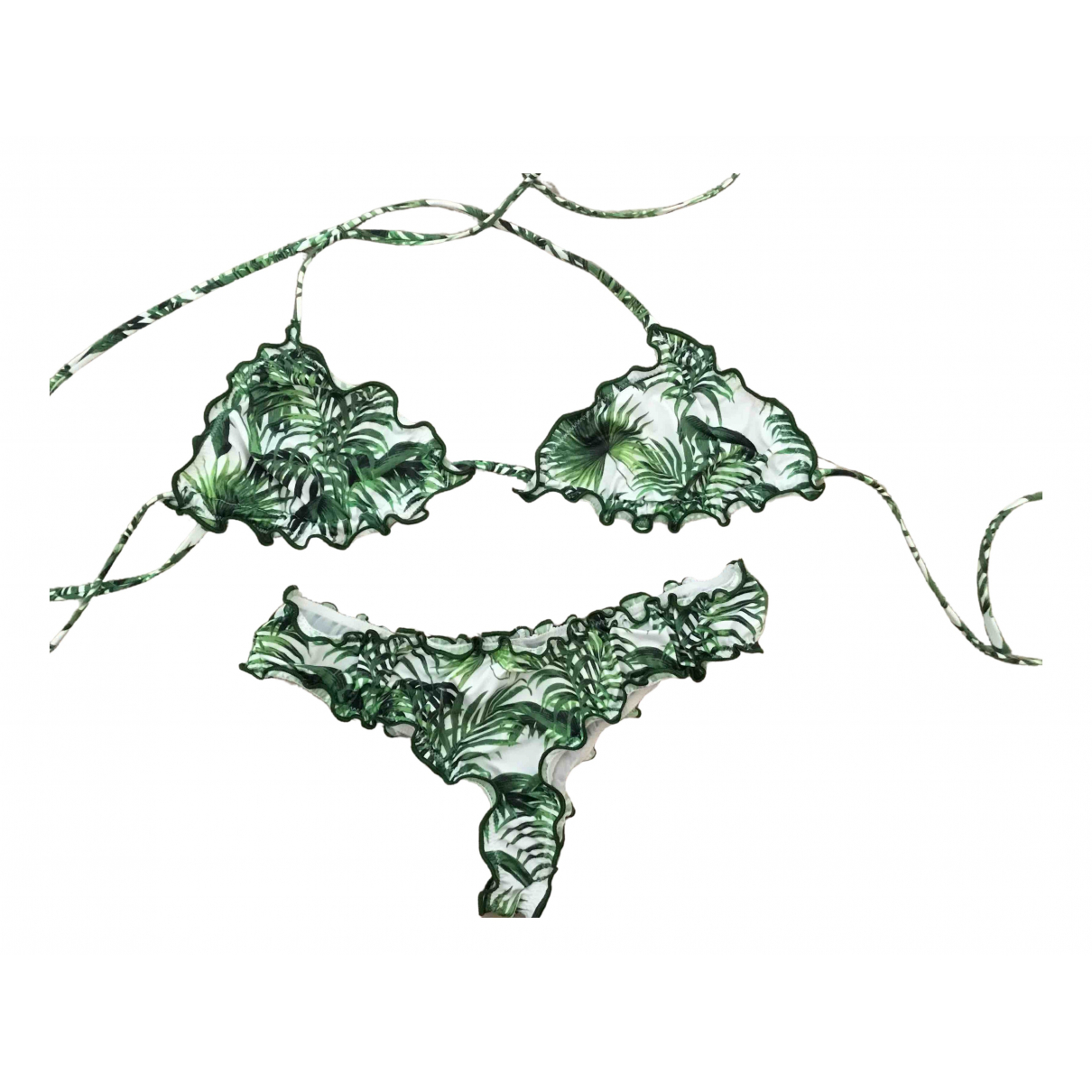Mc2 Saint Barth - Bain   pour femme en lycra - vert