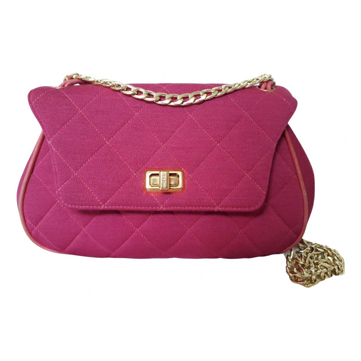 Chanel 2.55 Pink Cloth handbag for Women \N