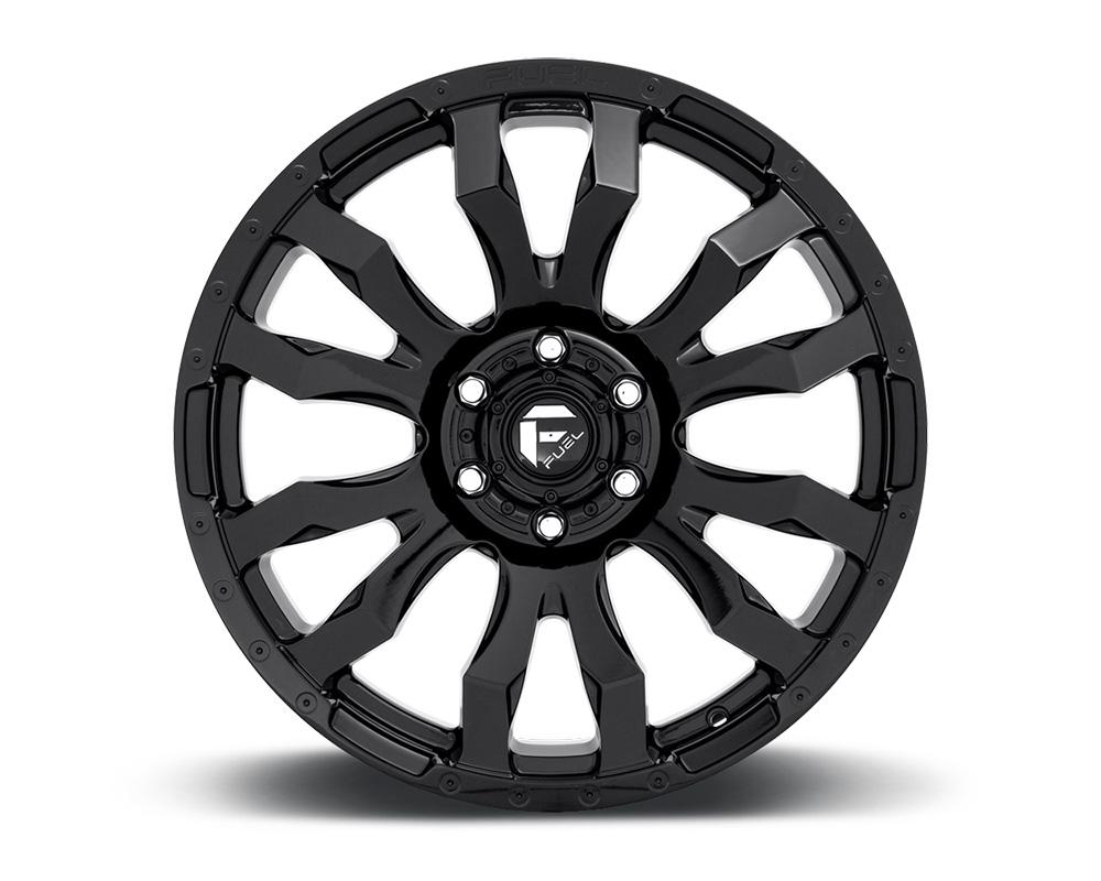 Fuel D675 Blitz Gloss Black 1-Piece Cast Wheel 20x10 6x135 -18mm