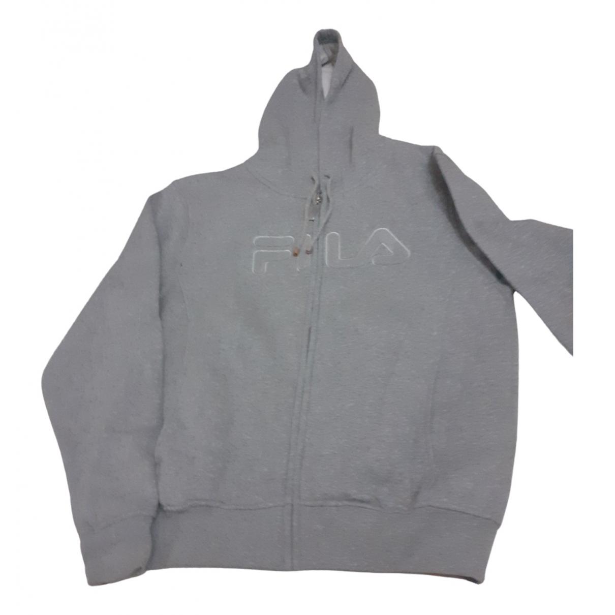 Fila \N Grey Cotton Knitwear for Women L International