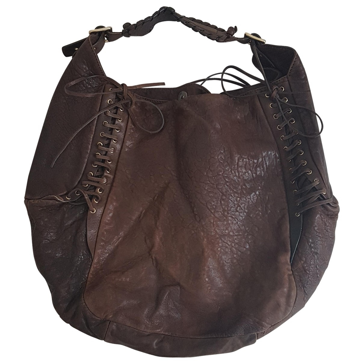 Givenchy Pandora Brown Leather handbag for Women \N