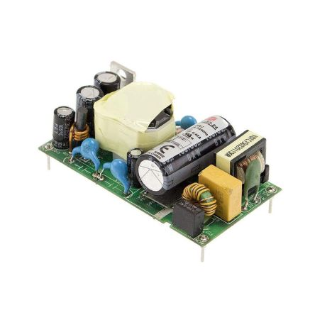 Mean Well , 30W Embedded Switch Mode Power Supply SMPS, 15V dc, Medical Approved
