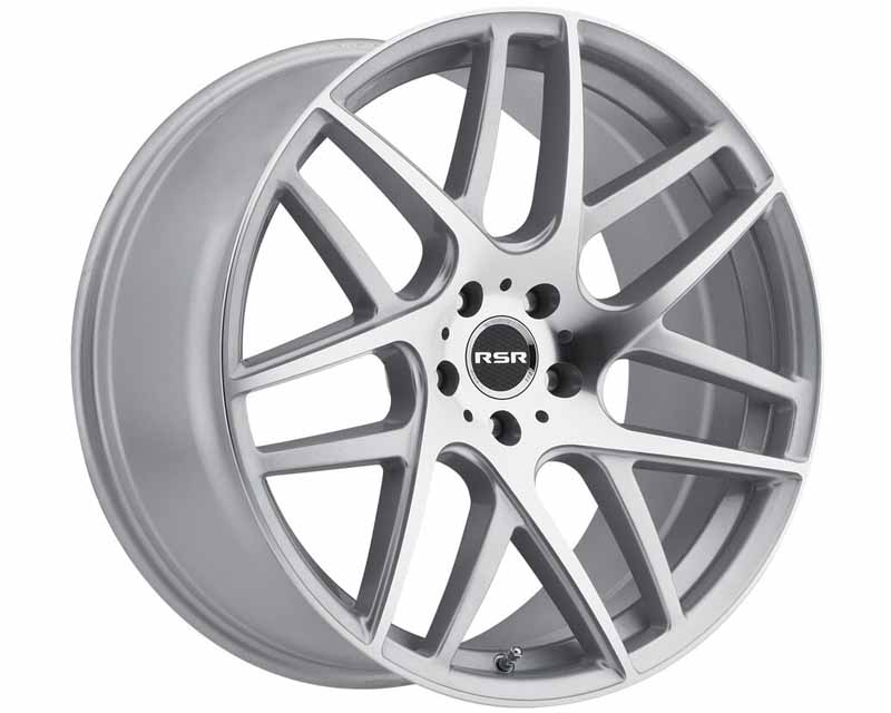 RSR Machined Silver Type R702 Wheel 18x8.5 5x120 35mm