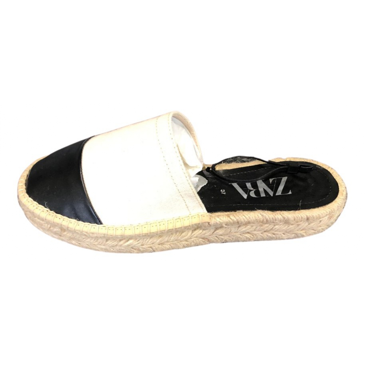 Zara - Espadrilles   pour femme en toile - beige