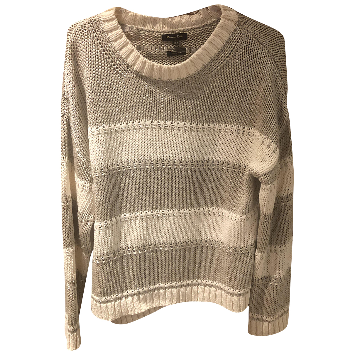 Massimo Dutti N Beige Knitwear for Women M International