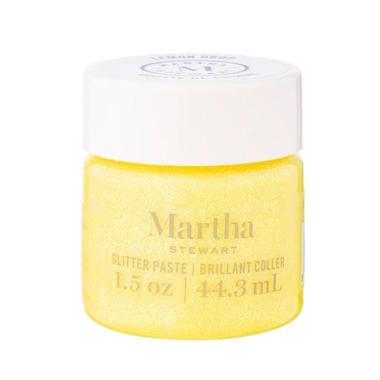Martha Stewart Glitter Paste in Lemon Drop | 1.5 oz | Michaels®