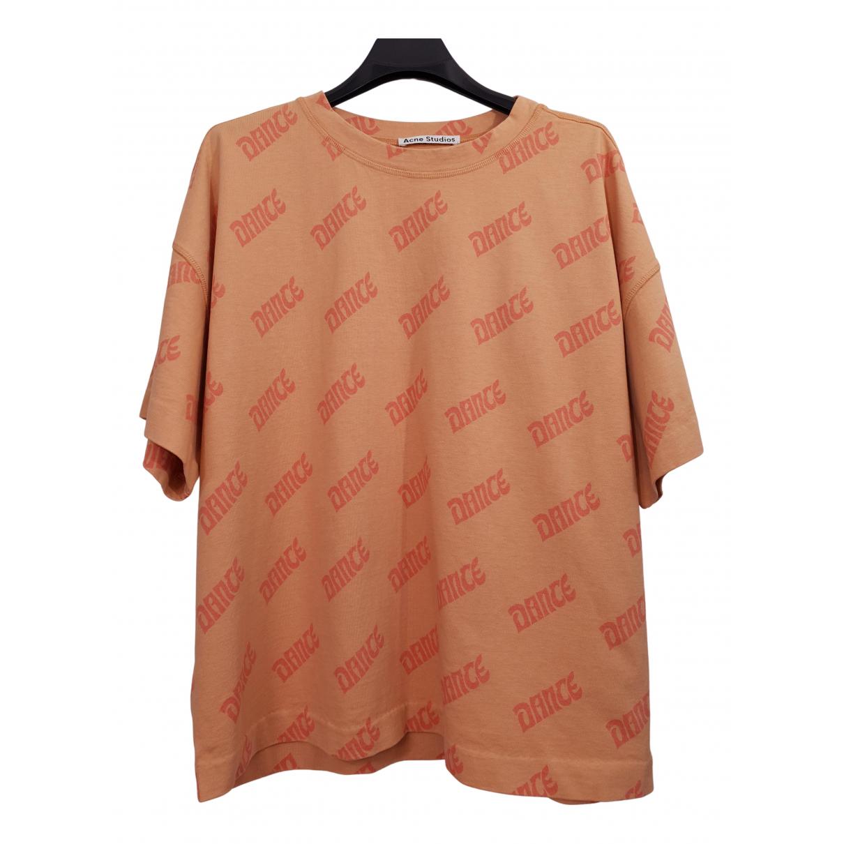 Acne Studios - Top   pour femme en coton - orange