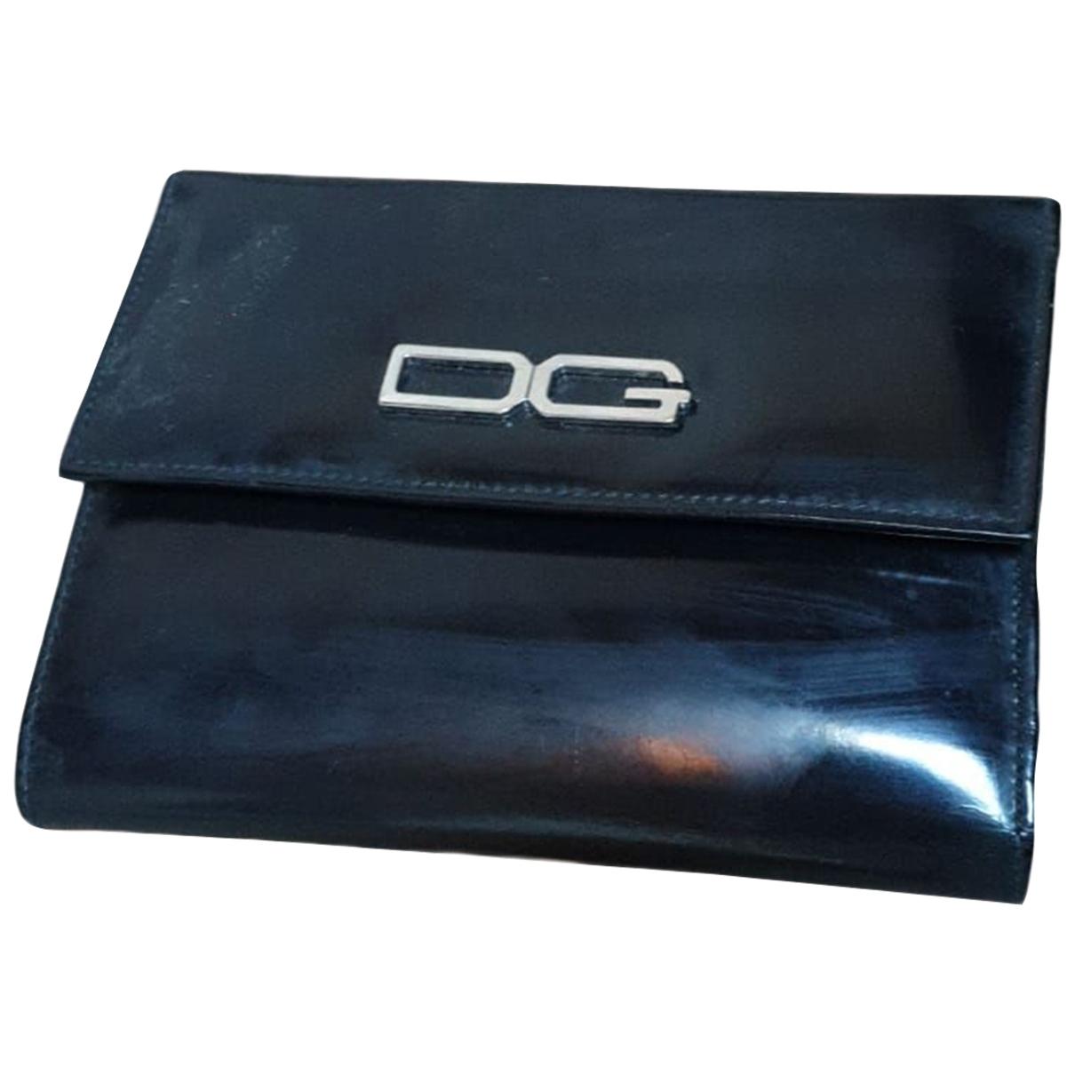 Dolce & Gabbana - Pochette   pour femme en cuir - noir