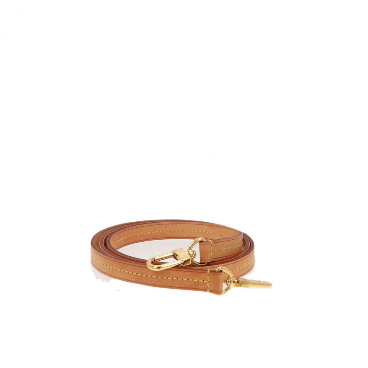 Louis Vuitton - Ceinture   pour femme en cuir - beige