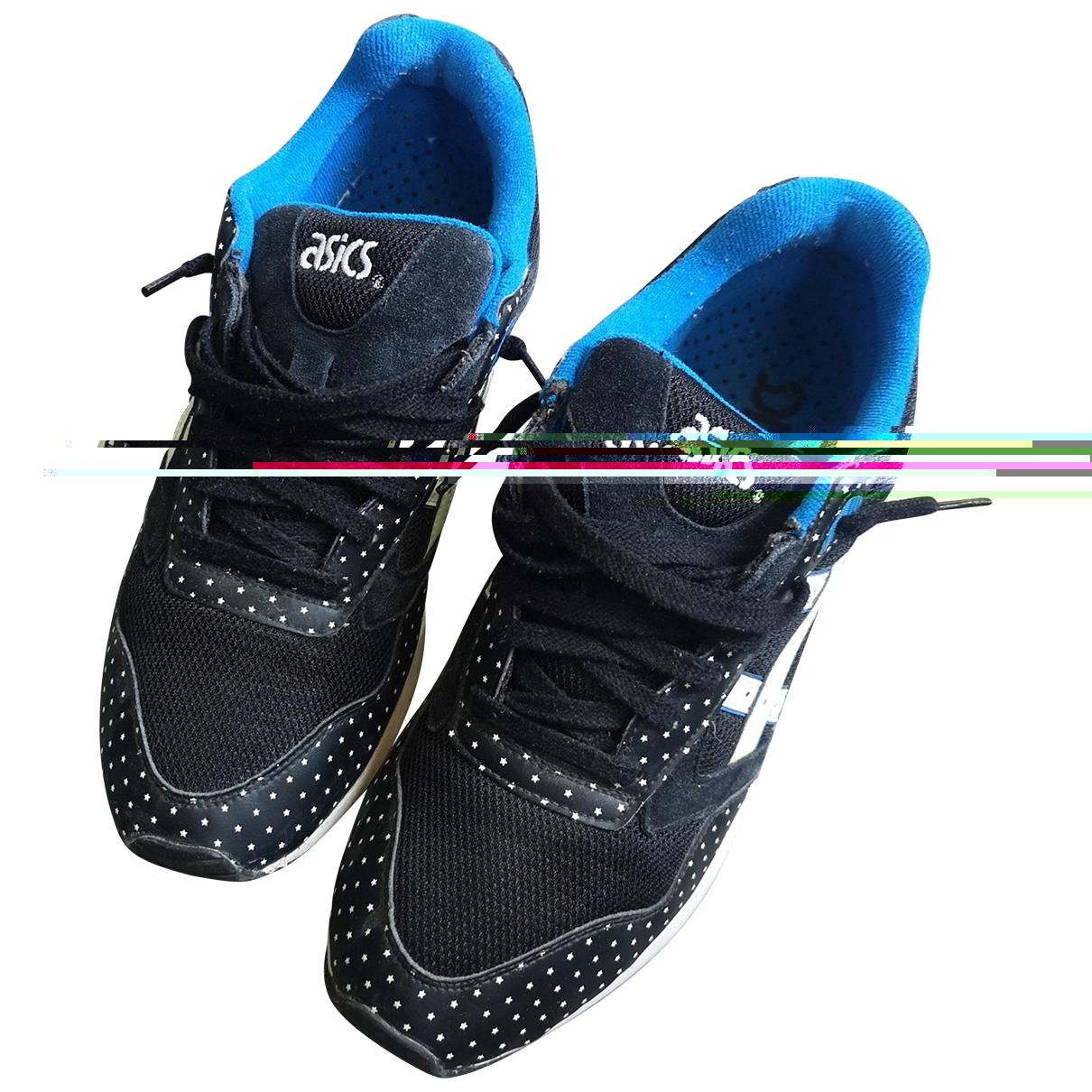 Asics - Baskets   pour homme en suede - noir