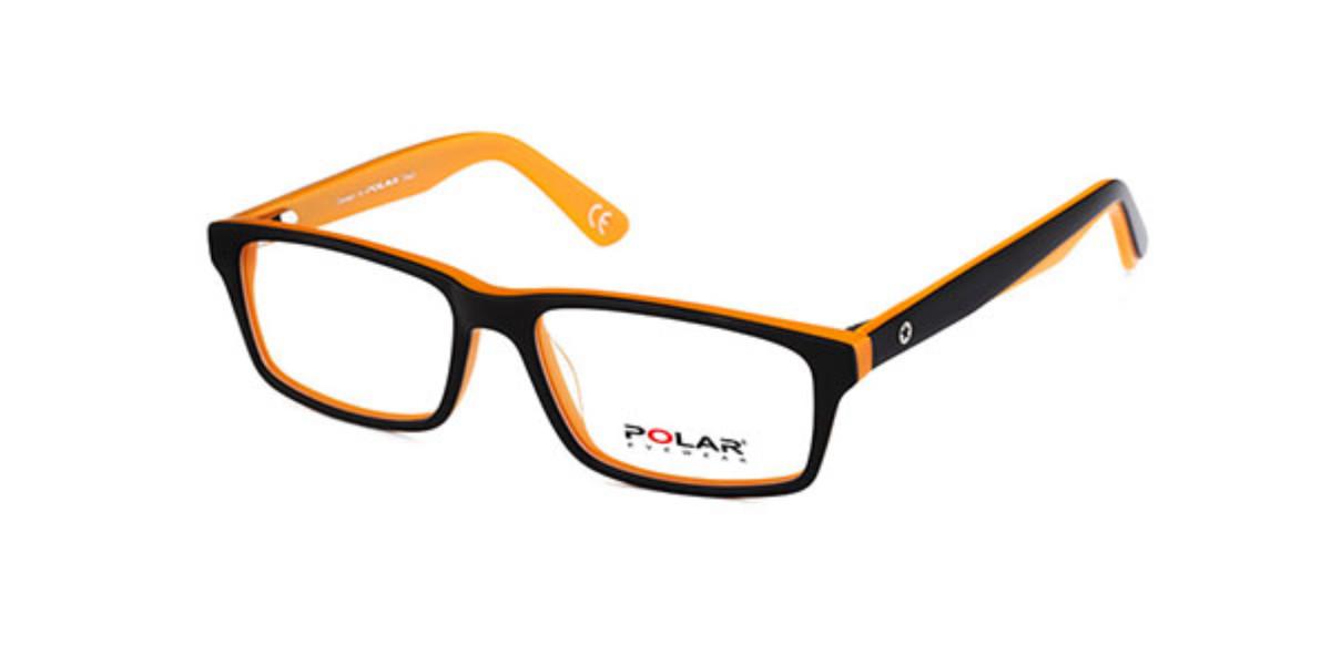 Polar PL YOUNG 12 7 Men's Glasses Yellow Size 49 - Free Lenses - HSA/FSA Insurance - Blue Light Block Available