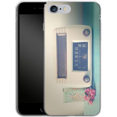Apple iPhone 6s Plus Silikon Handyhuelle - Retro Radio von Joy StClaire