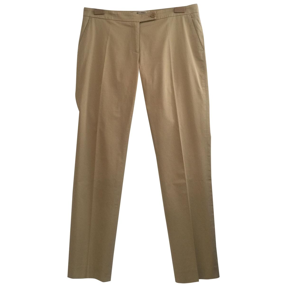 Etro - Pantalon   pour femme en coton - beige