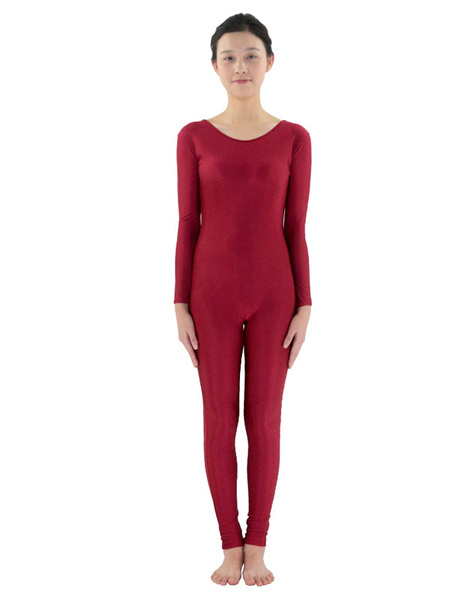 Milanoo Stretchy Morph Suit Adults Bodysuit Lycra Spandex Catsuit for Women
