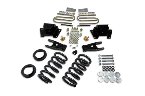 Belltech 923 1-2inch Front 3inch Rear Lowering Kit w/o Shocks Ford F-150 Harley Series 1997-2003