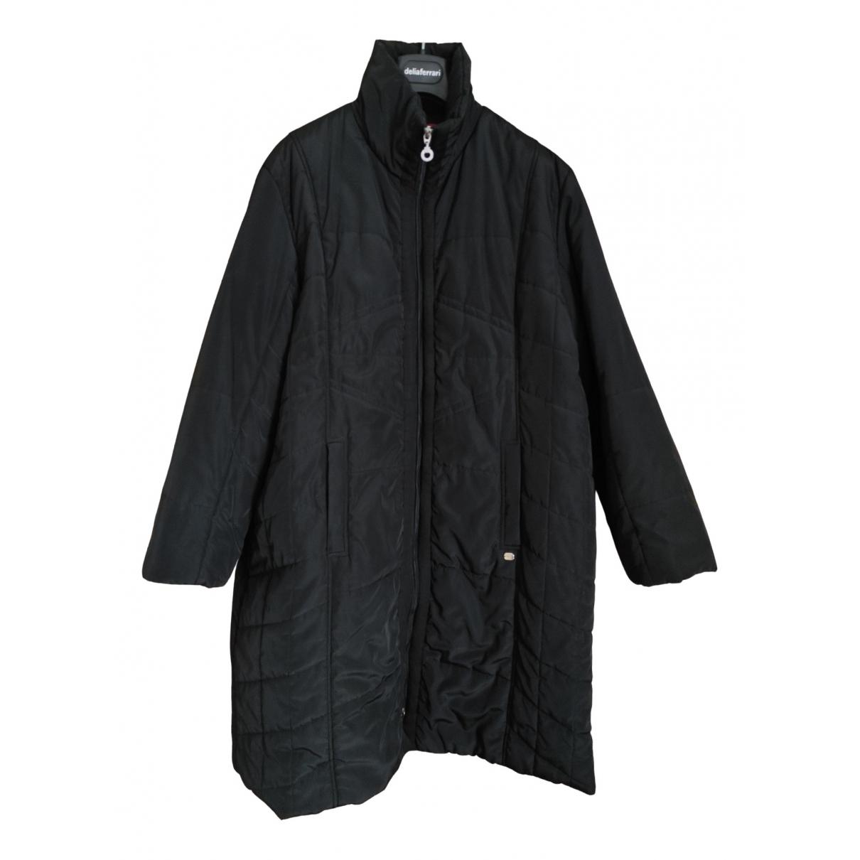 Krizia N Black coat for Women 48 IT