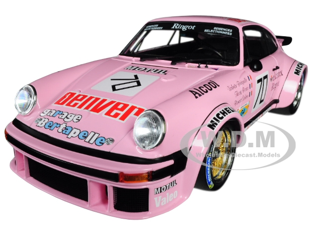 Porsche 934 70 T. Perrier/ V. Bertapelle/ V. Salam (Thierry Perrier) Winners 1981 GR.4 24 Hours Le Mans Limited Edition to 336 pieces Worldwide 1/18