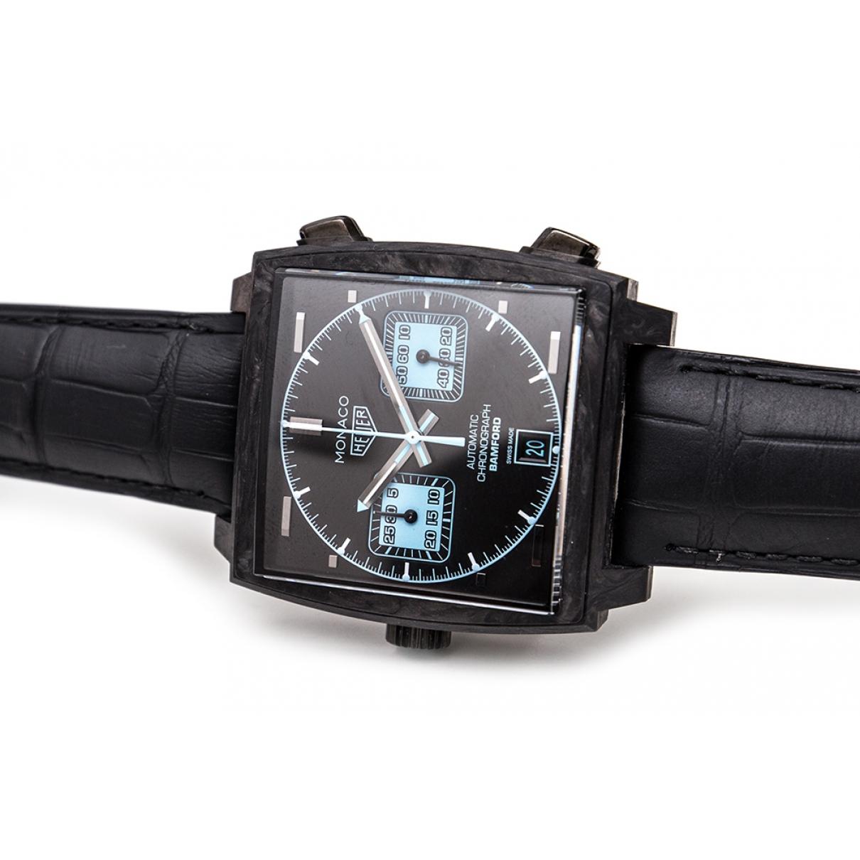 Tag Heuer Monaco Black watch for Men \N