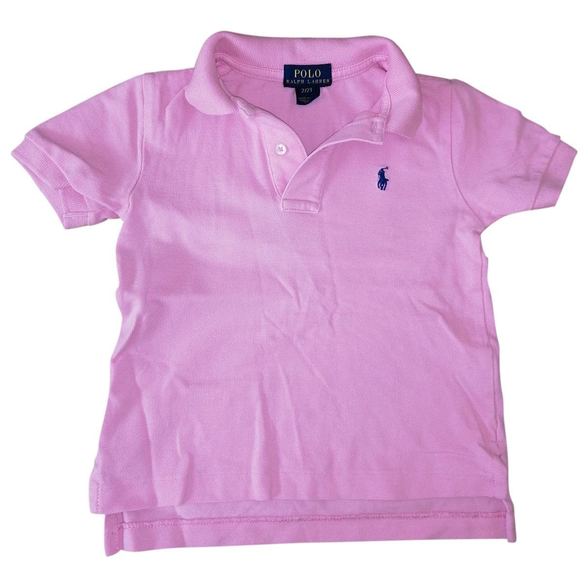 Polo Ralph Lauren \N Pink Cotton  top for Kids 2 years - up to 86cm FR
