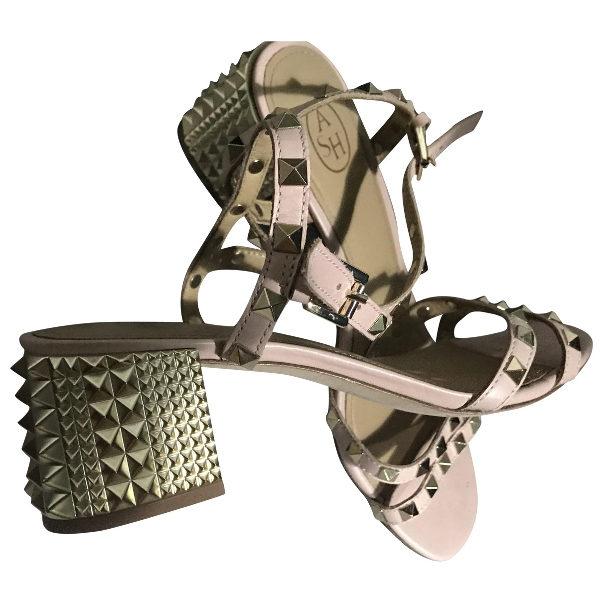 Ash \N Leather Sandals for Women 39 EU