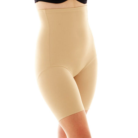 Naomi And Nicole Plus Unbelievable Comfort Wonderful Edge Comfortable Firm Firm Control Thigh Slimmers - 7779, 3x , Beige