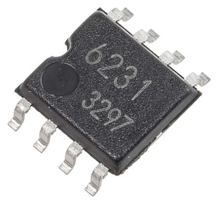 ROHM BD6210F-E2,  Brushed Motor Driver IC 0.5A 8-Pin, SOP (5)
