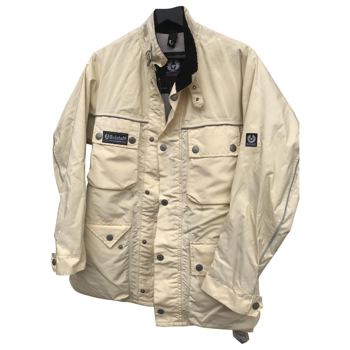 Belstaff \N Ecru jacket  for Men 44 IT