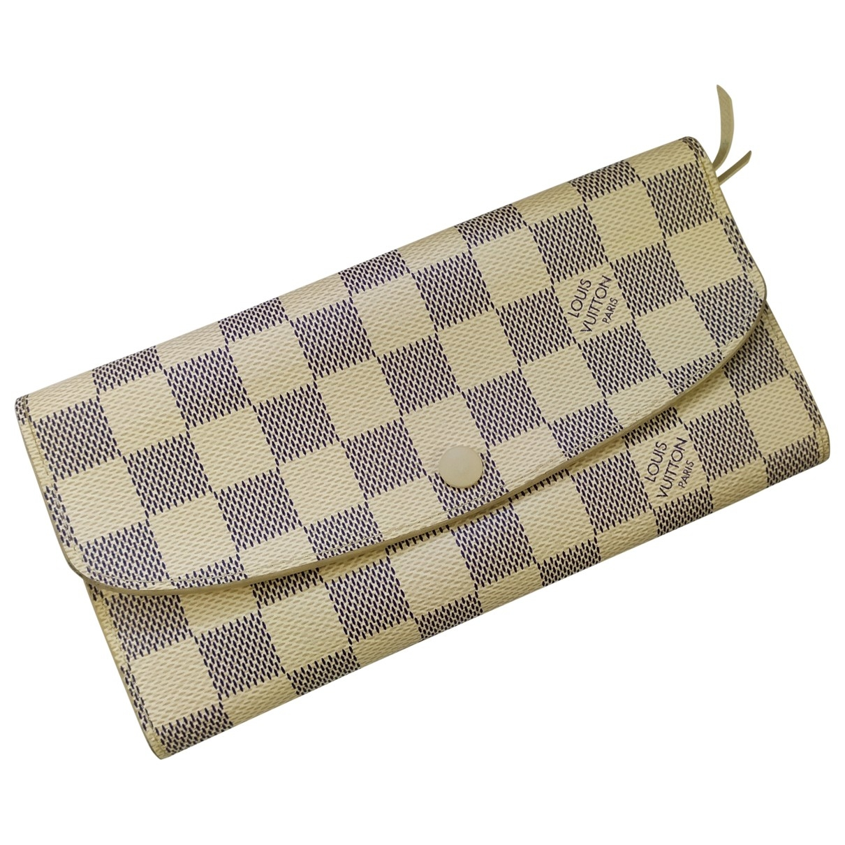 Louis Vuitton Emilie Ecru Cloth wallet for Women \N