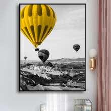DIY Diamand Malerei mit Heissluftballon Muster ohne Rahmen