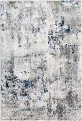 AIS2314-5373 5 3 x 7 3 Rug  in Charcoal and Light Gray and Dark Blue and