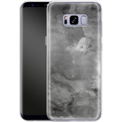 Samsung Galaxy S8 Plus Silikon Handyhuelle - Black Watercolor von Emanuela Carratoni