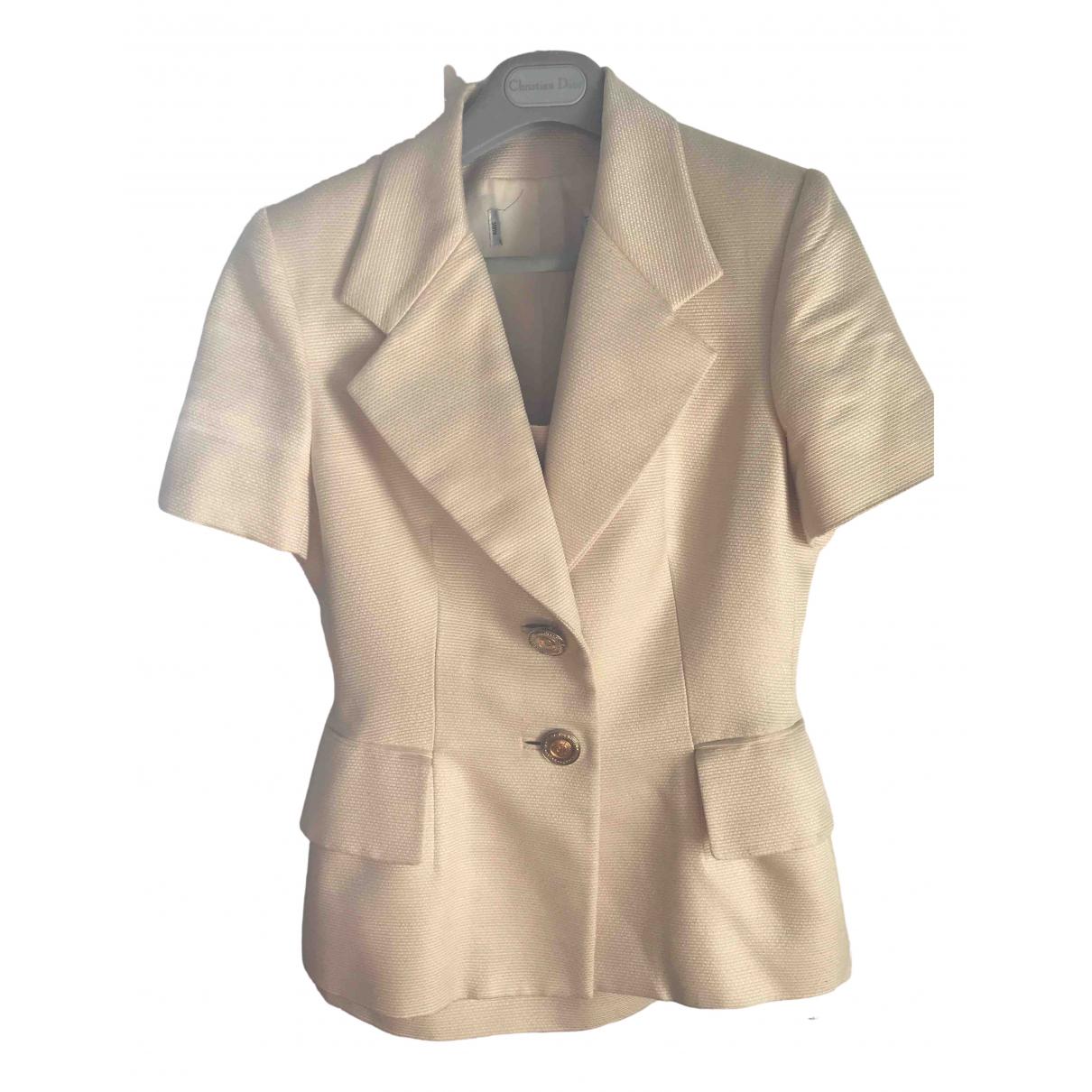 Dior - Veste   pour femme - beige