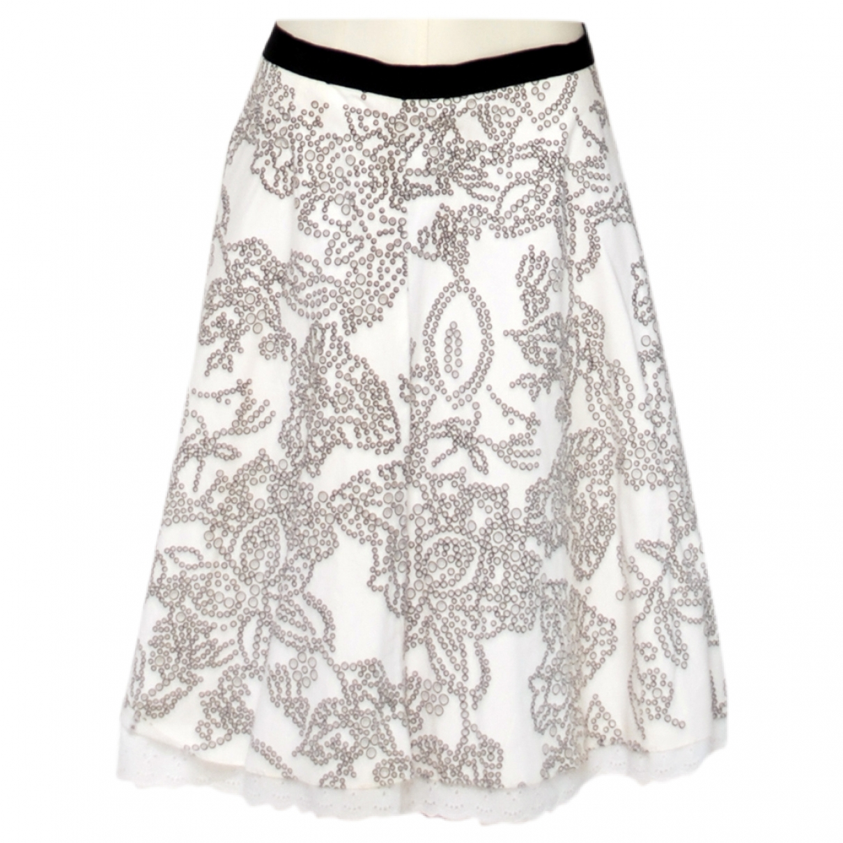 Non Signé / Unsigned \N Cotton skirt for Women 8 UK