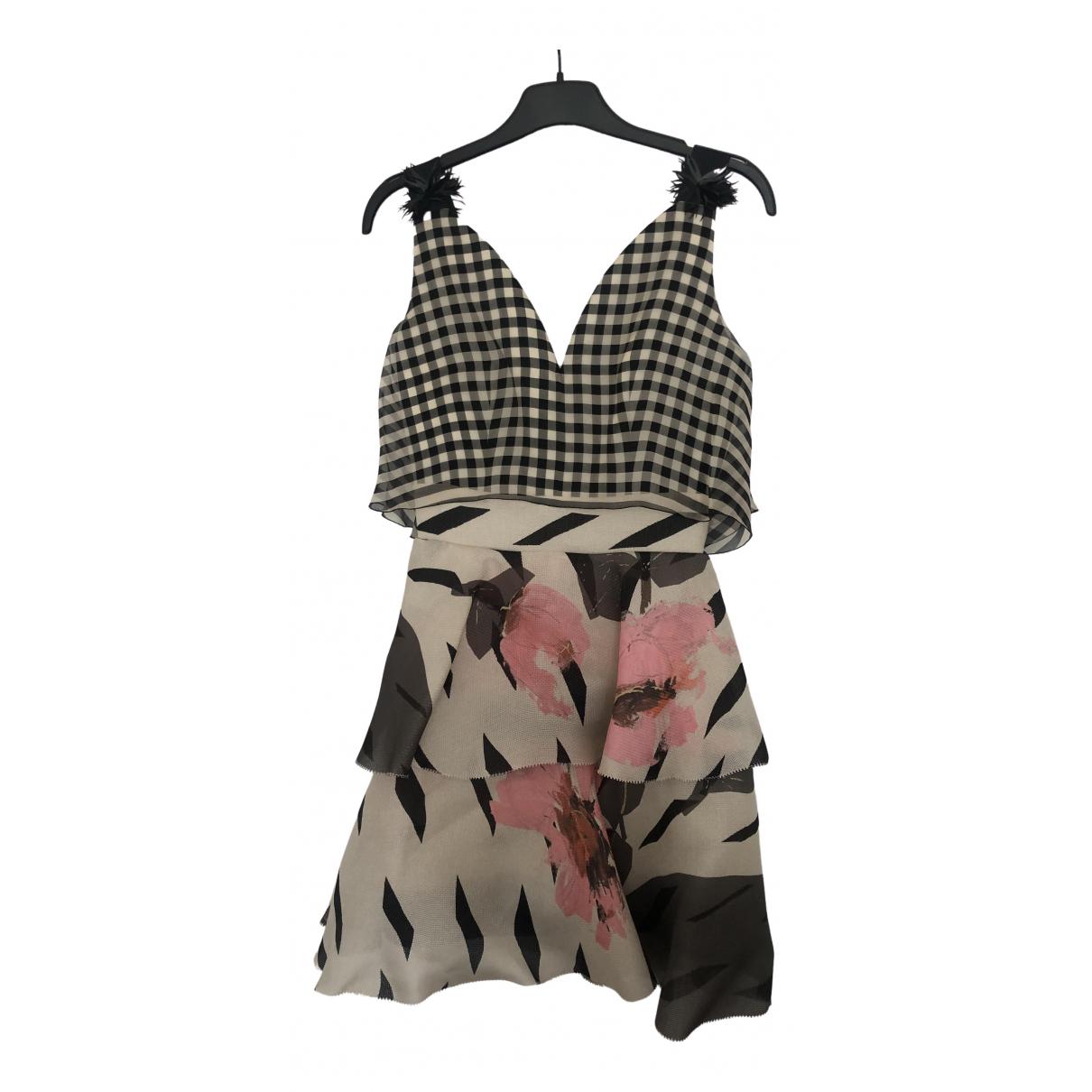 Delpozo \N Kleid in Baumwolle