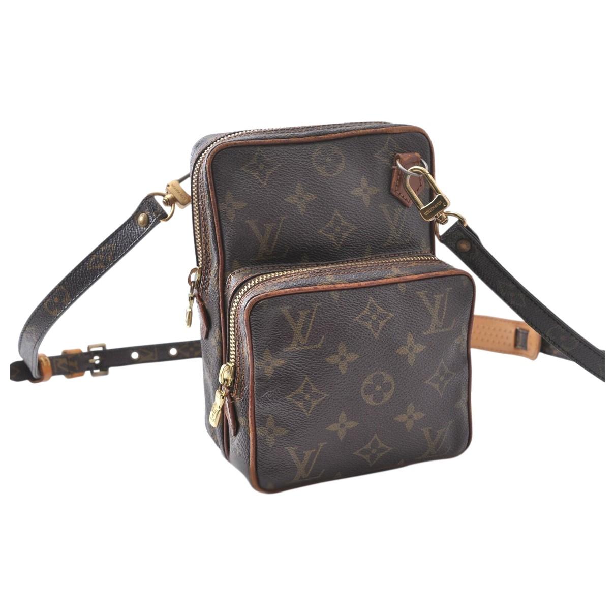 Louis Vuitton Amazon Handtasche in  Braun Leinen