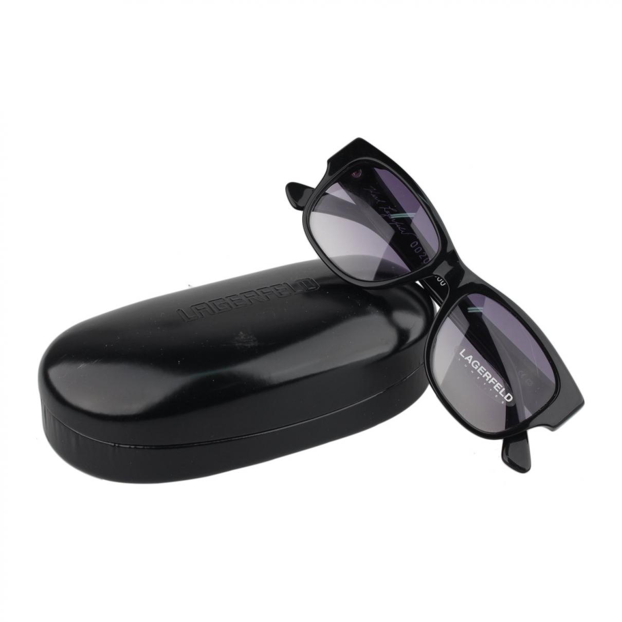 Karl Lagerfeld \N Black Sunglasses for Women \N