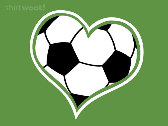 A Heart For Soccer T Shirt