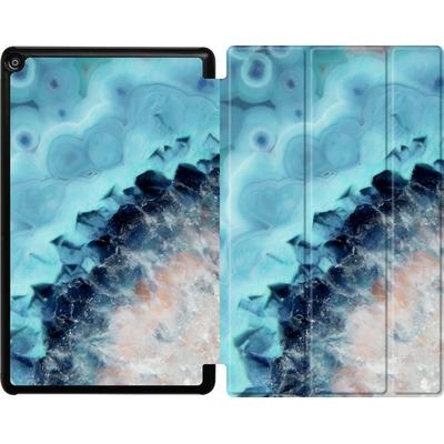 Amazon Fire HD 10 (2018) Tablet Smart Case - Ocean Agate von Emanuela Carratoni