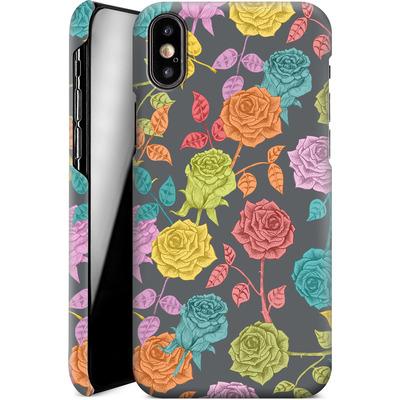Apple iPhone X Smartphone Huelle - Roses von Bianca Green