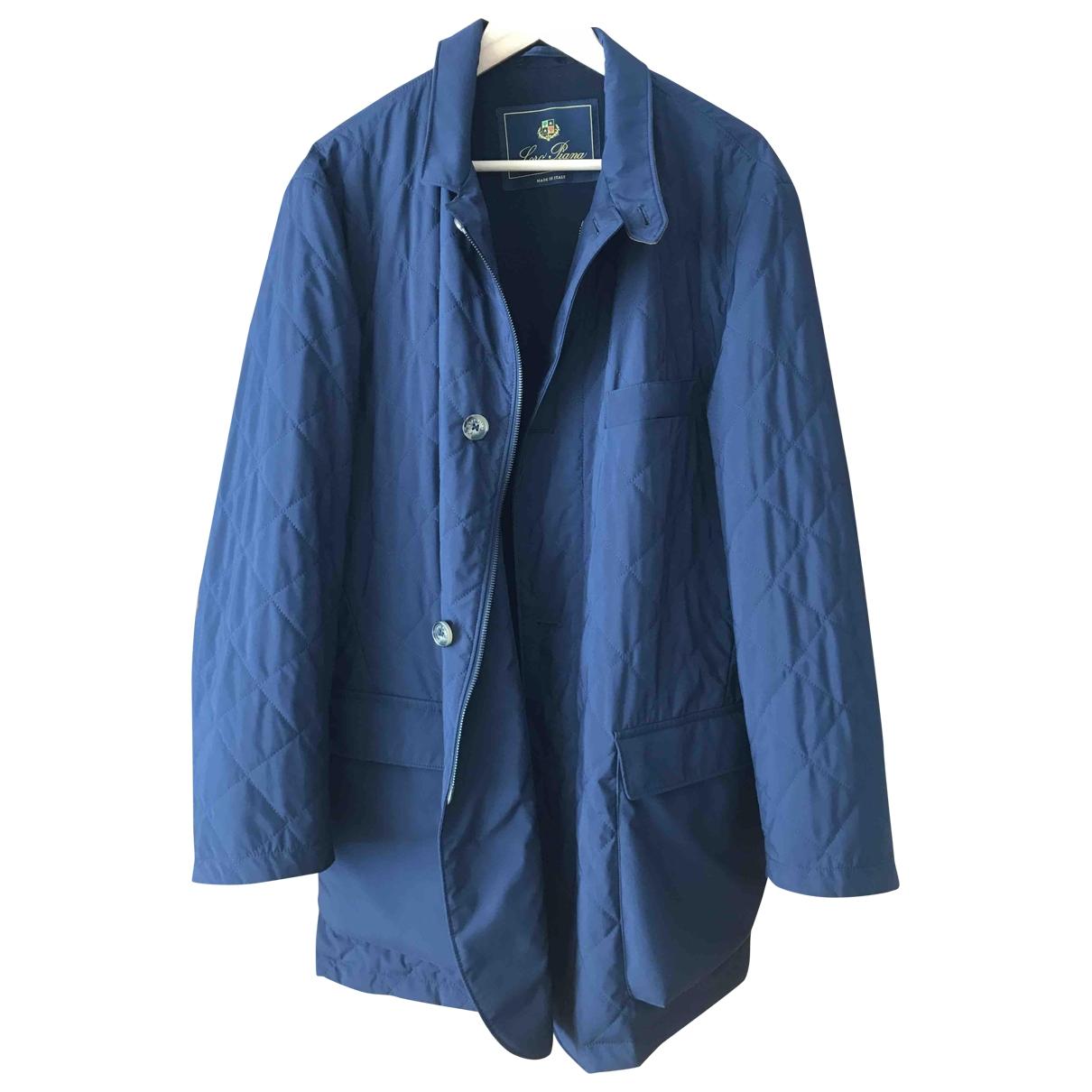 Loro Piana - Manteau   pour homme - bleu