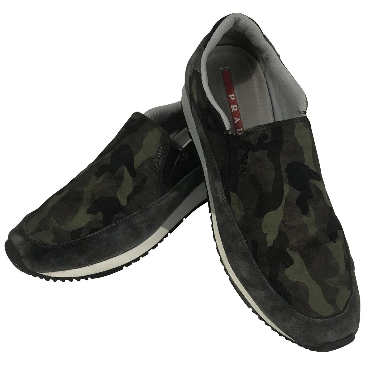 Prada \N Cloth Trainers for Men 5.5 UK