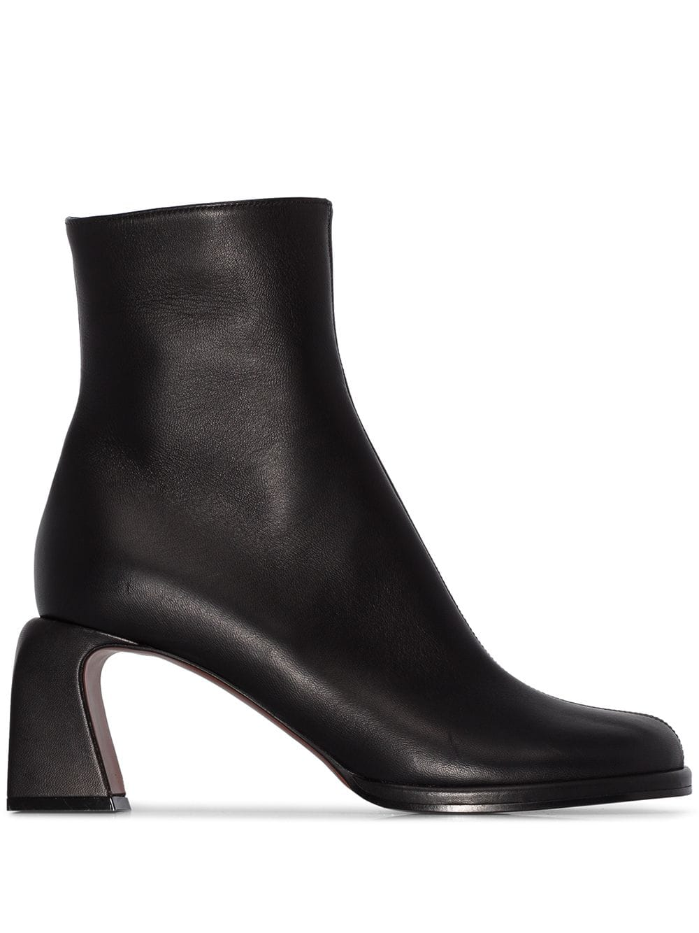 Chae Leather Ankle Boots